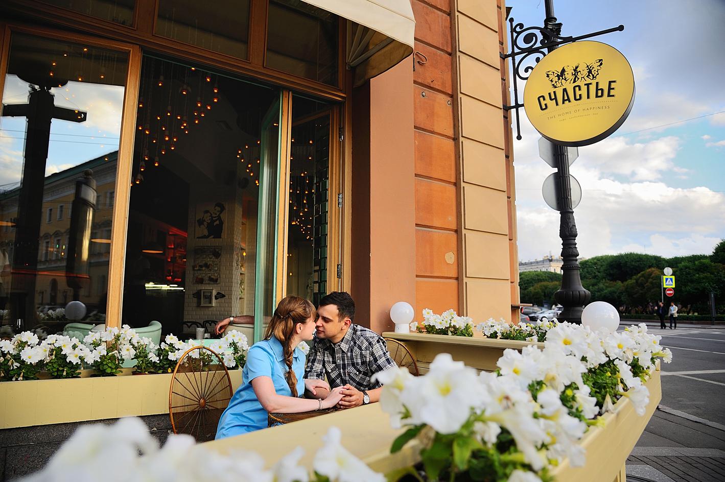 фотосессия в кафе