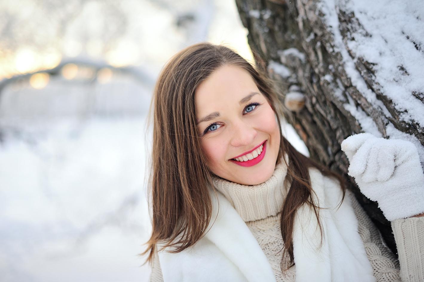 Фотосессия в Санкт-Петербурге зимой