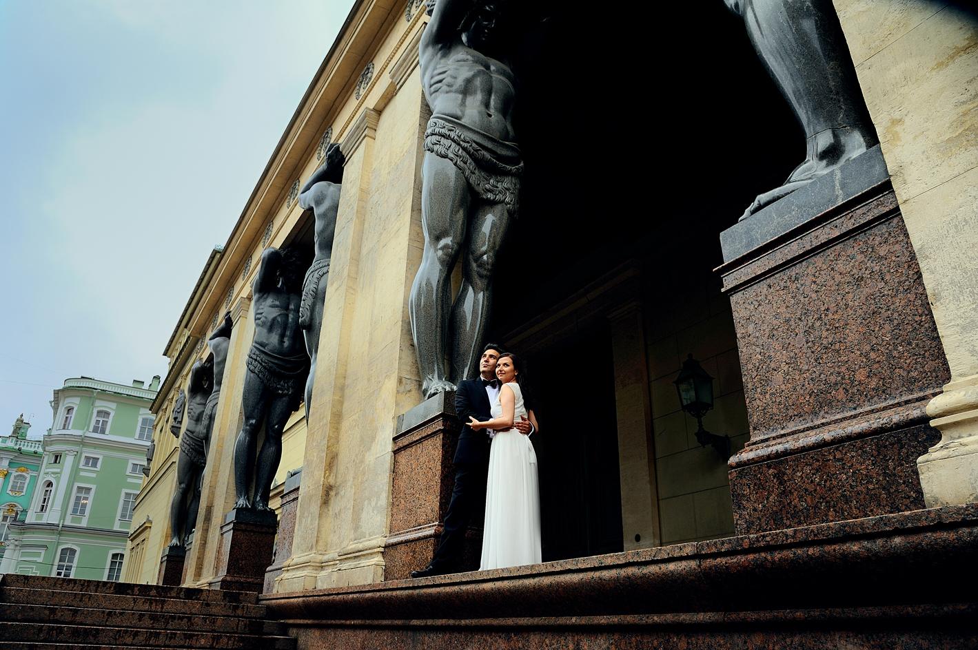 свадебная фотосессия в санкт-петебурге