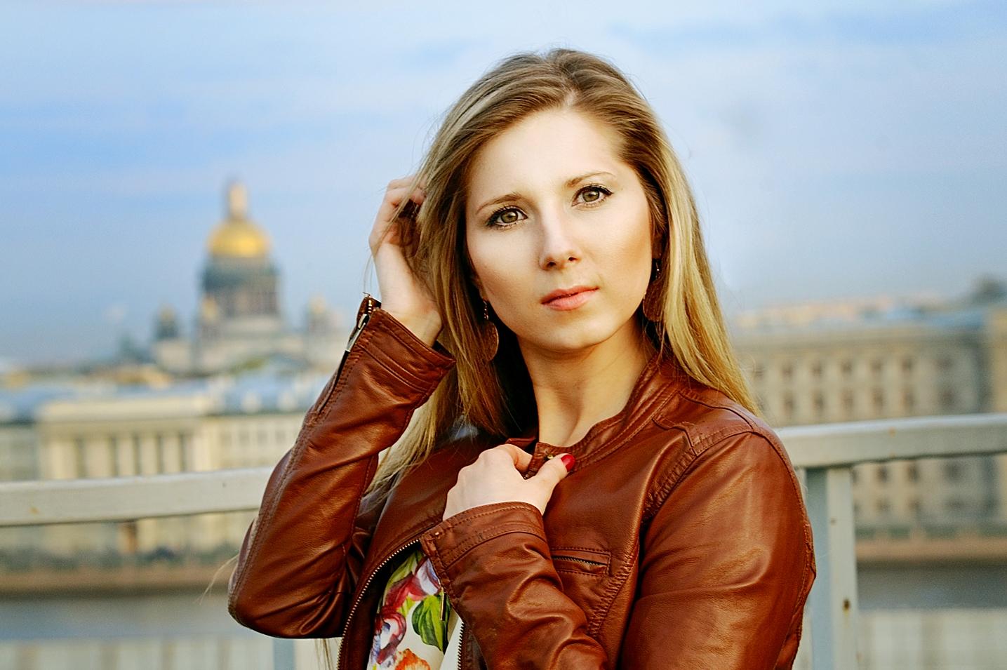 Прогулка и фотосессия в центре Санкт-Петербурга.