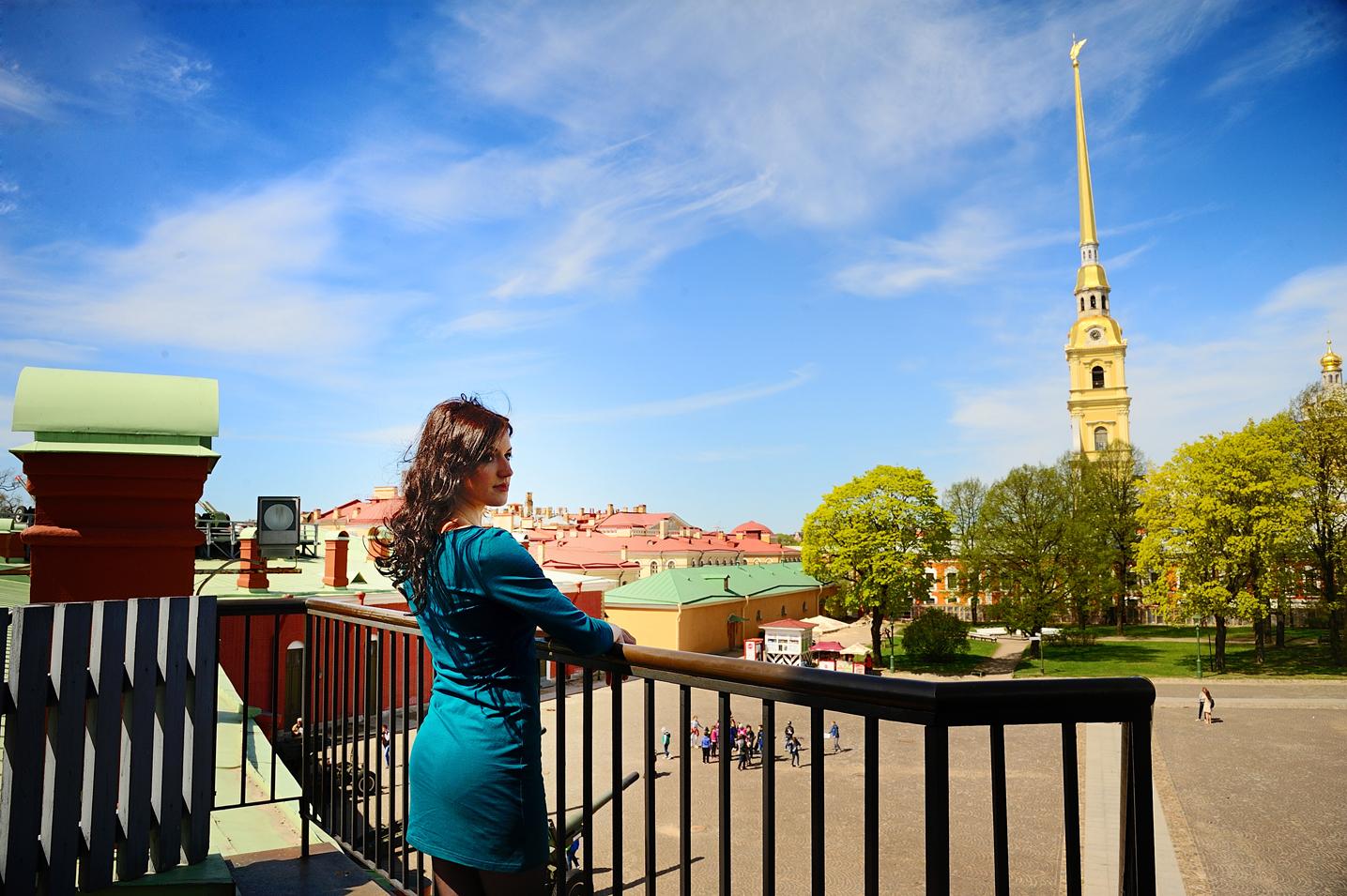 Фотосессия в центре города
