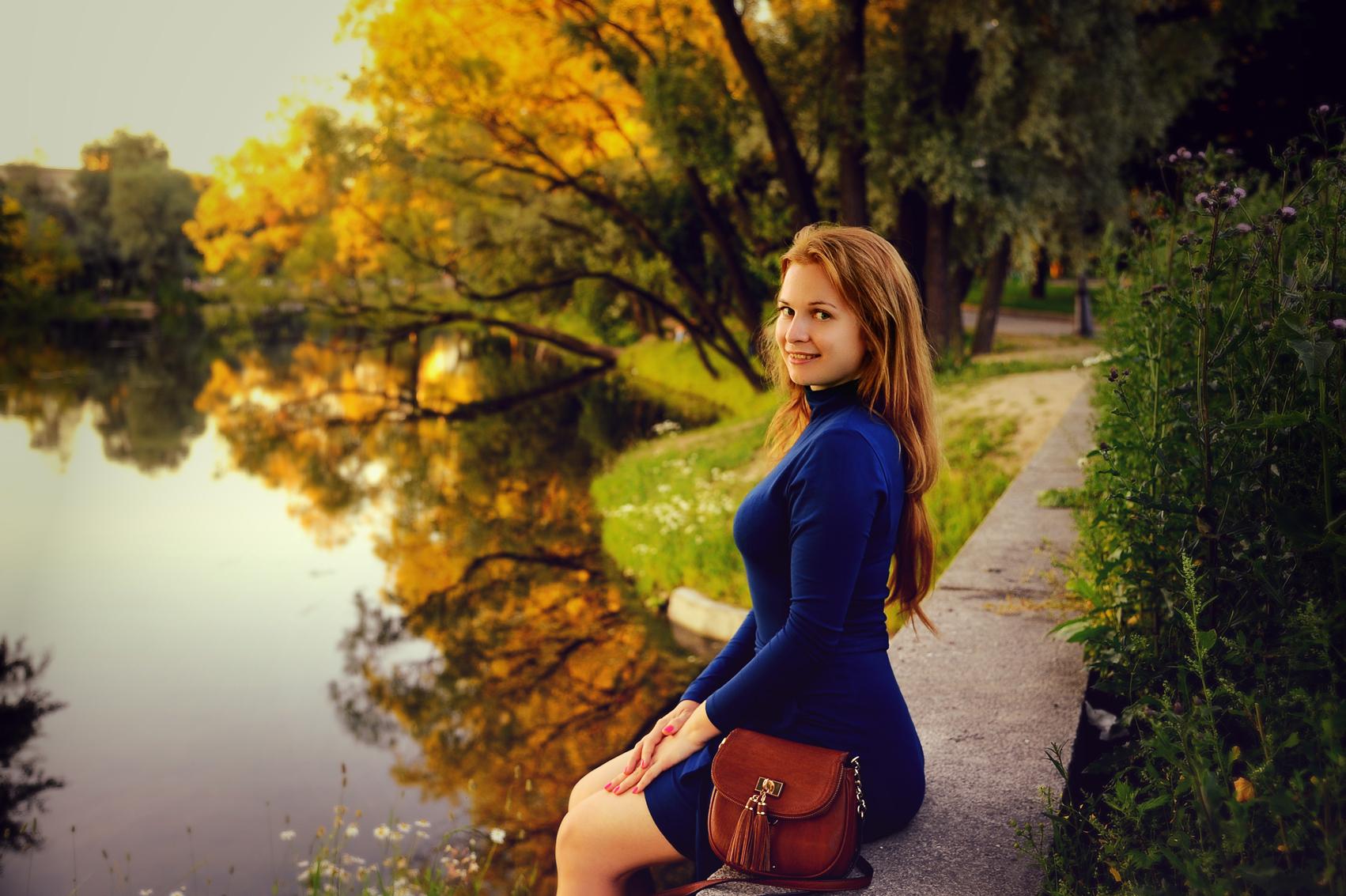 Фотографии обычных девушек 5 фотография