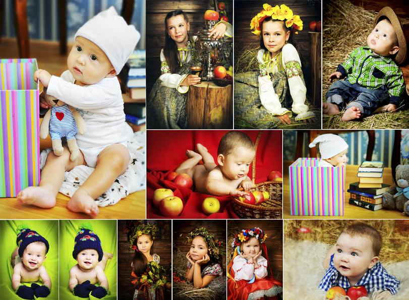 Детская фотосессия дома идеи фото