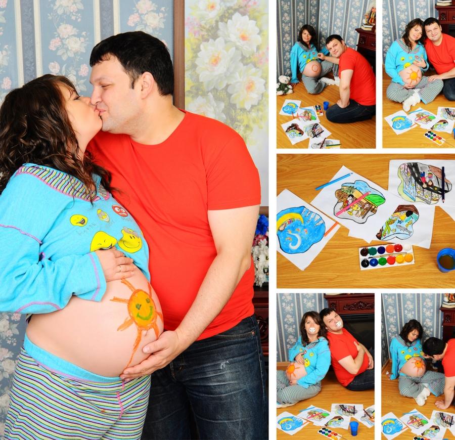 Семейные фото с беременной идеи