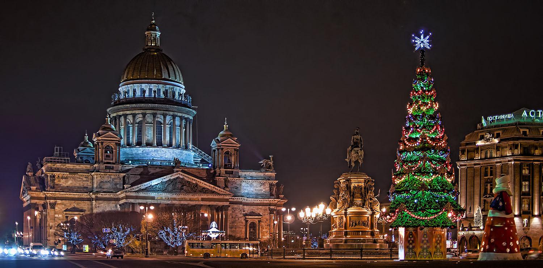 Фото санкт петербург новый год