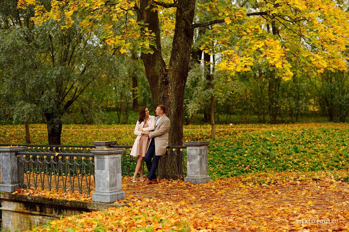 осенняя фотосессия в парке